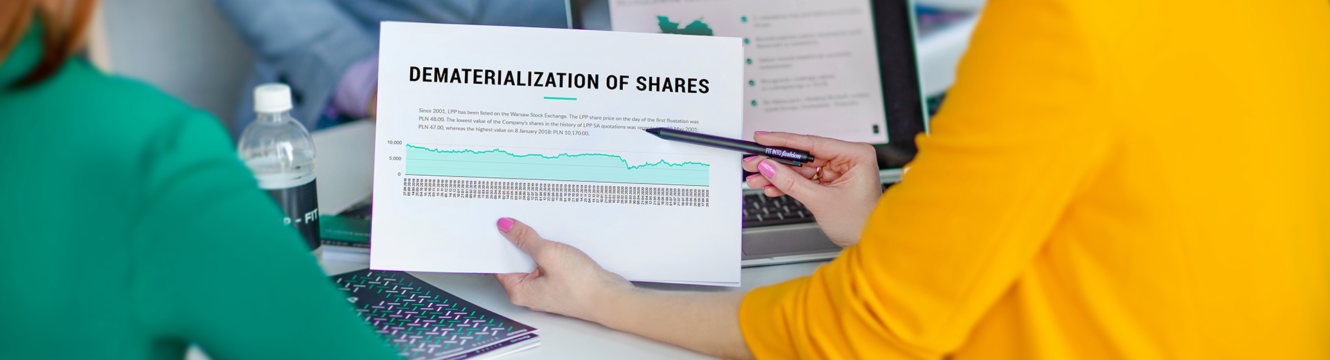 Dematerialisation of shares